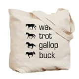 Cute Walking horses Tote Bag