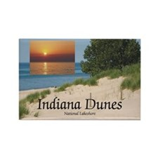 ABH Indiana Dunes Rectangle Magnet (10 pack)