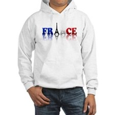 France Tricolore and Eiffel T Hoodie