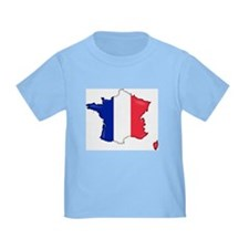 French Flag Map T