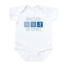 Curtis Dancing Blue Infant Bodysuit