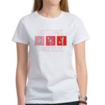 Live To Dance Red Women's T-Shirt