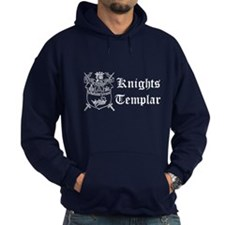 Knights Templar York Shield Navy Hoody