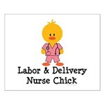 Labor and Delivery Chick Small Poster