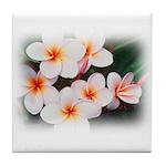 Plumeria Tile Coaster