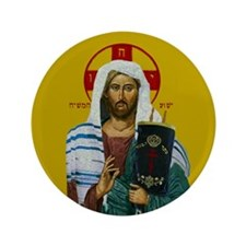 "Mashiach Yeshua 3.5"" Button"
