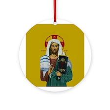 Mashiach Yeshua Ornament (Round)