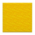 Textured Gold Look Tile Coaster