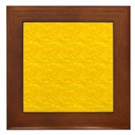 Textured Gold Look Framed Tile