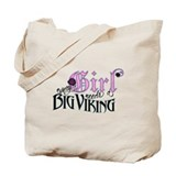 Every Girl Needs a Big Viking Tote Bag