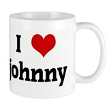 I Love johnny Small Mug