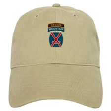 10th Mountain Div with Recon Cap