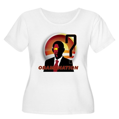 ObamaNation Women's Plus Size Scoop Neck T-Shirt
