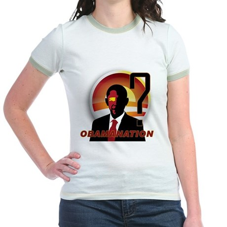 ObamaNation Jr. Ringer T-Shirt
