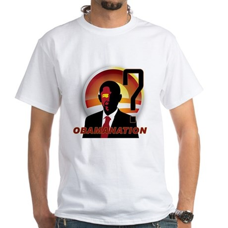 ObamaNation White T-Shirt