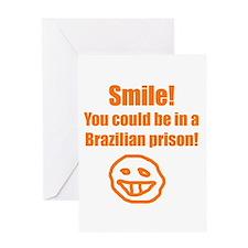 Cute Jail prison Greeting Card