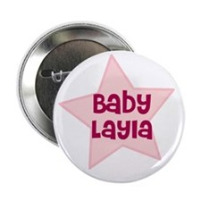 "Baby Layla 2.25"" Button (10 pack)"