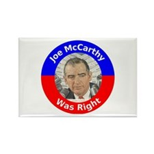 Joe McCarthy Was Right Rectangle Magnet