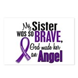 Angel 1 Sister Pancreatic Cancer Postcards (Packag