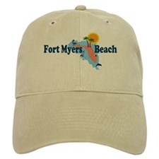 Fort Myers Beach FL Baseball Cap