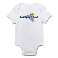 Fort Myers Beach FL Infant Bodysuit