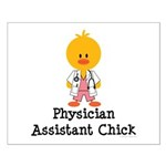 Physician Assistant Chick Small Poster