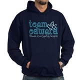 Team Edward-Because I love sp Hoodie
