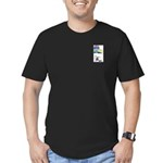 Dog Park Men's Fitted T-Shirt (dark)
