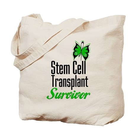 Survivor Stem Cell Transplant Tote Bag