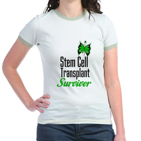 Survivor Stem Cell Transplant Jr. Ringer T-Shirt