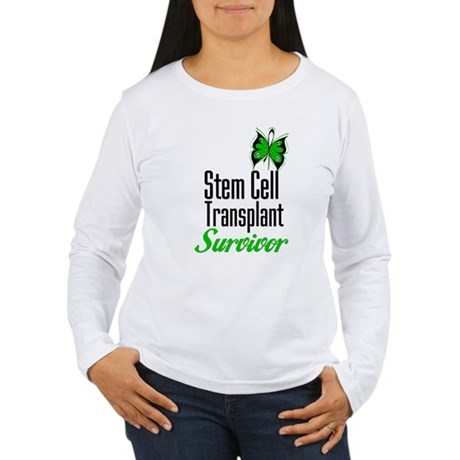Survivor Stem Cell Transplant Women's Long Sleeve