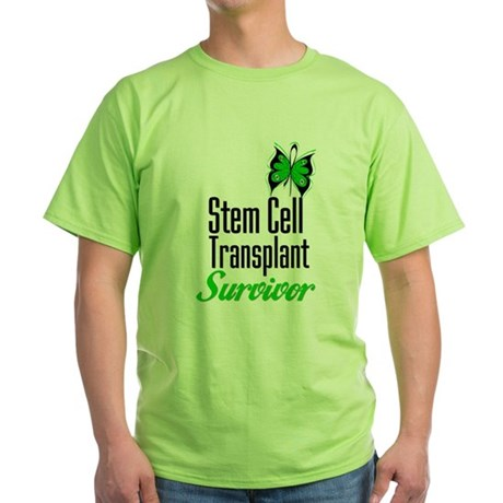Survivor Stem Cell Transplant Green T-Shirt