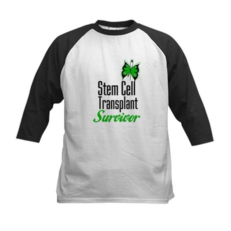 Survivor Stem Cell Transplant Kids Baseball Jersey