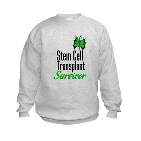 Survivor Stem Cell Transplant Kids Sweatshirt
