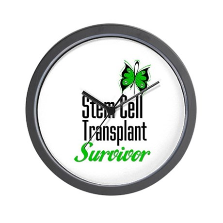 Survivor Stem Cell Transplant Wall Clock