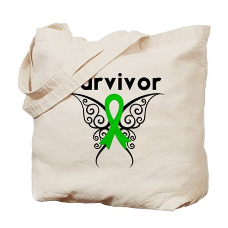 Butterfly SCT BMT Survivor Tote Bag