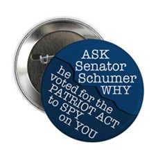 Why Did Schumer Vote For the Patriot Act?
