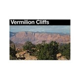 Vermilion Cliffs NM Rectangle Magnet