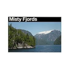 Misty Fjords NM Rectangle Magnet