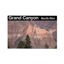 Grand Canyon NP (North Rim) Rectangle Magnet