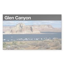Glen Canyon NRA Rectangle Decal