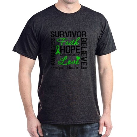 Collage Stem Cell Transplant Dark T-Shirt