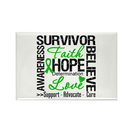 Collage Stem Cell Transplant Rectangle Magnet (10