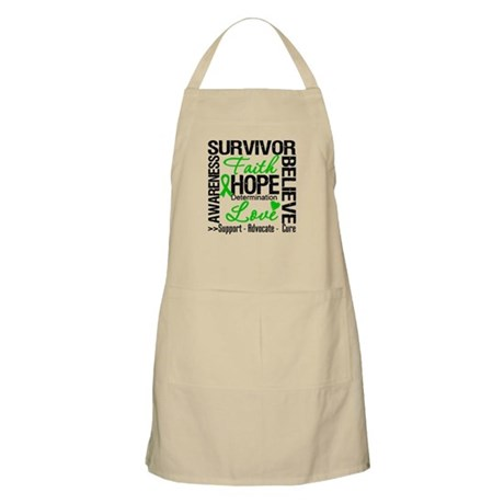 Collage Stem Cell Transplant BBQ Apron