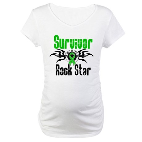SCT Survivor Rock Star Maternity T-Shirt