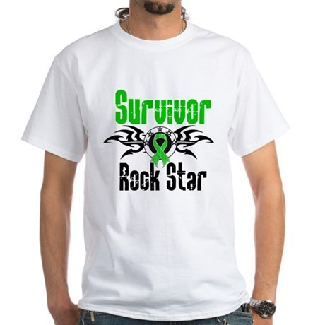 SCT Survivor Rock Star White T-Shirt