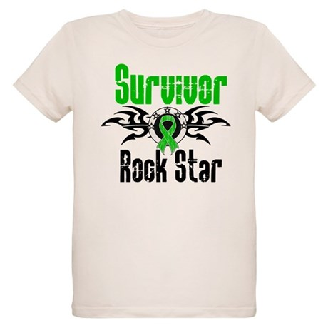 SCT Survivor Rock Star Organic Kids T-Shirt