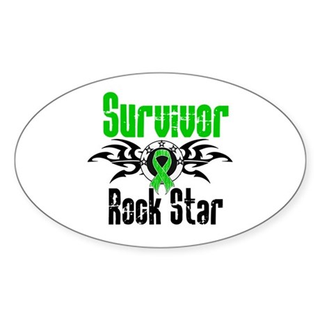 SCT Survivor Rock Star Oval Sticker