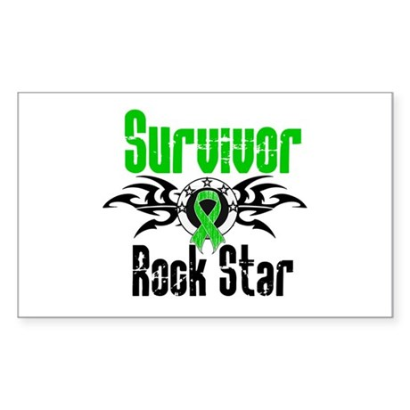 SCT Survivor Rock Star Rectangle Sticker