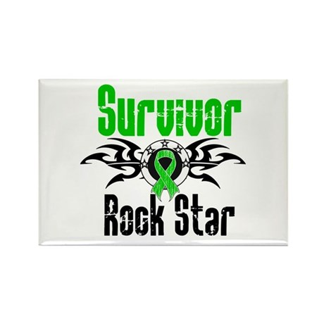 SCT Survivor Rock Star Rectangle Magnet